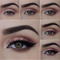 #ShareIG Lindo e simples... Vamos tentar? #makeup #maquiagem #makeupartist #vicios #viciosdecinderela