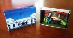 Matchbox Building: Matchbox Miniature of Old by SuitcaseDollhouse