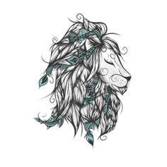 Cuadro león poética