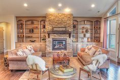 I Love the built-ins and fireplace.  http://www.alderbrookhomes.biz/