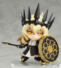 【Black Rock Shooter】Nendoroid - Chariot with Mary (Tank) Set TV ANIMATION Ver.  [Manufacturer]Good Smile Company  [Release Date]late July-2013  [Material] ABS & PVC  [Size] Appx. 100mm Tall  URL: http://aikoudo.com/goods_en_12538.html