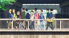 Kaze ga Tsuyoku Fuiteiru (Run with the Wind) - Resenha - Meta Galaxia Kuroko, Me Me Me Anime, Anime Guys, Haikyuu, College Guys, Drama, My Little Monster, Seraph Of The End, Zero Two