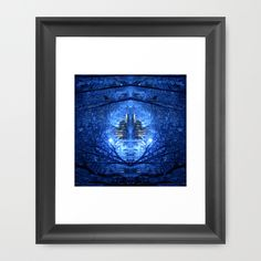 Buy wintery abstract forest Framed Art Print by haroulita. Worldwide shipping available at Society6.com. Just one of millions of high quality products available.
