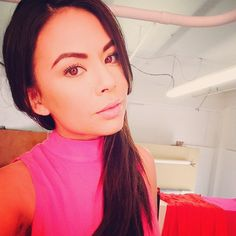 Natural looks great on Janel Parrish. | Pretty Little Liars