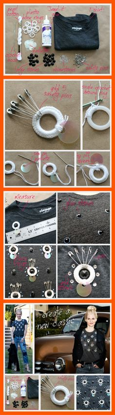 Diy blusa con lentejuelas, i luv it!
