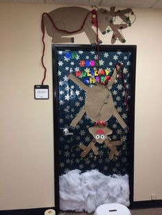 image of snowman door decoration yahoo image search results