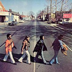 Booker T & the MGs, McLemore Avenue, 1970 (an homage to the Beatles' Abbey Road) - See their history and hear their music at the Stax Museum of American Soul Music . Abbey Road, Pop Rock, Rock N Roll, Steve Cropper, Al Jackson, Funk Bands, 60s Music, Booker T, Great Albums