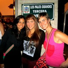 Lindo Recuerdo: Olga Lopez, Erika de la Vega y yo @elbauldemarina