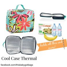 Thirty One sure knows how to make a lunch box! I love this new cool case thermal!!