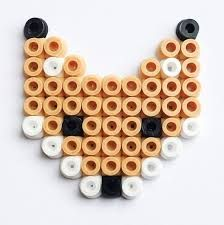 Image result for hama bead fox