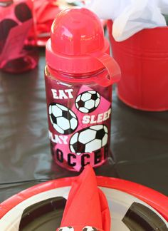 Soccer party favors