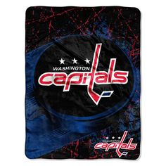 Washington Capitals NHL Micro Raschel Throw (46in x 60in)