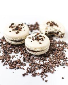 – Pumpkin Pie Spice Macarons with Caramel, Dark Chocolate Ganache ...