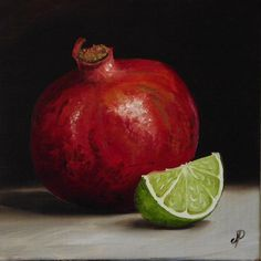 Jane Palmer - Pomegranate and Lime