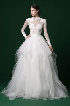 Featured Dress: Daalarna Couture; Wedding dress idea.