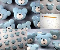 Beary Cute Macarons