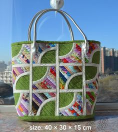 Quilted Patchwork Bag Tote