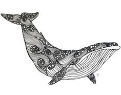 I used this drawing of a great whale because I am creative and want to become a marine biologist. Tattoo Drawings, Art Drawings, Black Pen Drawing, Whale Drawing, Capricorn Tattoo, Whale Tattoos, Laser Art, Tattoo Illustration, Stencil Patterns