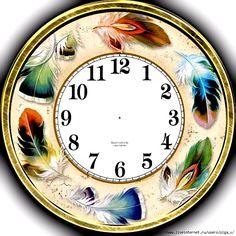 Wall Clock Kits, Clock Art, Diy Clock, Cross Paintings, Animal Paintings, Clock Face Printable, Shabby Chic Clock, Face Images, Scroll Saw Patterns