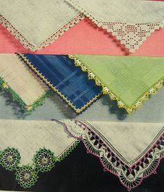 Vintage Handkerchief Edging Book by munnypenney on Etsy, $8.00