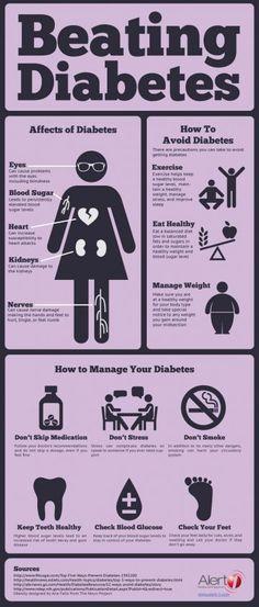 Verte Diabetes Infografika