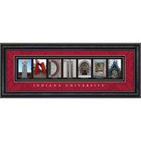 Indiana Hoosiers Letter Art