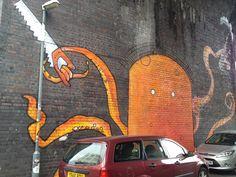 birmingham graffiti at custard factory