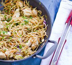 Szechuan Chicken with Noodles