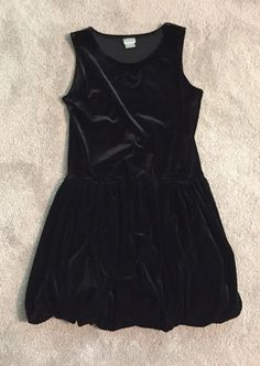 Perfectly Dressed Girl's Dress, Black, Size L 10/12  | eBay