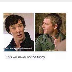 Sherlock is so jealous! Get off your high horse, Sherlock! Sherlock Fandom, Sherlock John, Sherlock Holmes Bbc, Watson Sherlock, Jim Moriarty, Sherlock Quotes, Funny Sherlock, Martin Freeman, Hunger Games