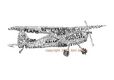 Airplane Art or Aircraft and Aviation Art Typography Illustration Print, Airplane Word Art Illustration Gift for Pilots, pen and ink drawing. Joni James, Aviation Decor, Aviation Fuel, Aviation Training, Word Drawings, Pilot Gifts, Airplane Art, Inspiration For Kids, Letter Art