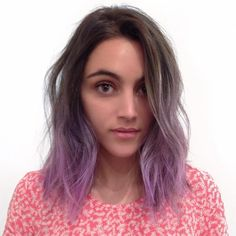 "SAL SALCEDO en Instagram: ""Textury Purple Haircolor @mizzchoi Haircut/Style @salsalhair"""