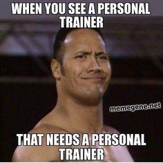 Personal Trainer LMAO