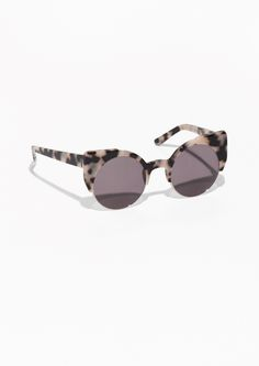 & Other Stories | Cat-Eye Acetate Sunglasses