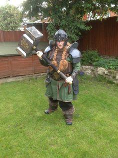 female dwarf dwarve costume cosplay