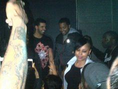 WDDW: Drake Parties In Marcelo Burlon Sun T-Shirt
