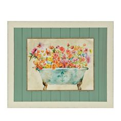 Garden Bath I Framed Art Print | Kirklands