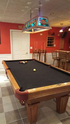 Gorgeous Solid Wood Brunswick Billiards Manchester Pool Table SOLD - Best place to sell pool table