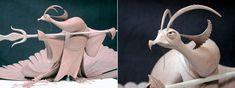 http://theconceptartblog.com/2011/07/17/esculturas-originais-dos-filmes-da-dreamworks/
