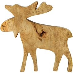 Leonardo Wooden Elk Christmas Ornament - Large ($49) ❤ liked on Polyvore featuring home, home decor, holiday decorations, wood, wood christmas ornaments, fish home decor, wooden christmas ornaments, wooden home decor and wood home decor