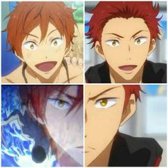 Free! ES ~~ The darling Mikoshiba brothers :: Friendly when they're dry. Fierce when they get wet.