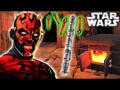 Spread the love - Compartir en Redes Sociales How Darth Maul BUILT His RARE Lightsaber (Animated) – Star Wars Explained In legends, Darth Maul built his rare lightsaber using a very interesting method that I'd like to read and animate from the novel – Darth