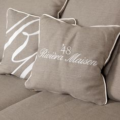 Rivièra Maison Webshop Coastal Living, Home And Living, Rivera Maison, Buckwheat Pillow, Interior Design Quotes, Taupe, Beige, Home Board, Textiles
