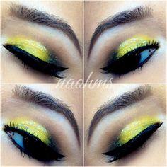 Pikachu/ Bumble Bee Makeup Tutorial | Love 2 Primp