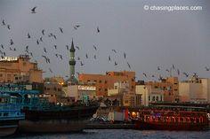 How to Get to Bur Dubai Old Souk/Textile Souk By Dubai Metro Train or Boat Bur Dubai, Travel Guide, Paris Skyline, Boat, Train, Places, Dinghy, Travel Guide Books, Boats