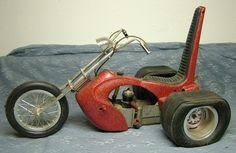 1960s Trike 3-Wheeled Gas Powered Chopper by Cox