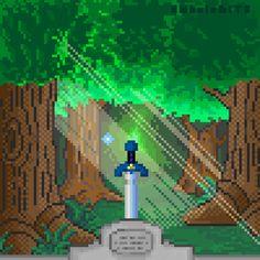 Sword, The Legend of Zelda (animated)