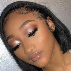 [New] The 10 Best Eye Makeup Ideas Today (with Pictures) - Birthday Makeup Looks, Prom Makeup Looks, Glam Makeup Look, Glamour Makeup, Black Girl Makeup, Cute Makeup, Girls Makeup, Gorgeous Makeup, Beauty Makeup