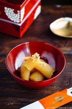 Kazunoko (Herring Roe) 数の子 for Japanese New Year's Feast Osechi Ryori | Easy Japanese Recipes at JustOneCookbook.com