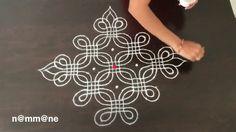 Chukki Rangoli Design    Padi kolam with new look    Padi kolam with 12-...